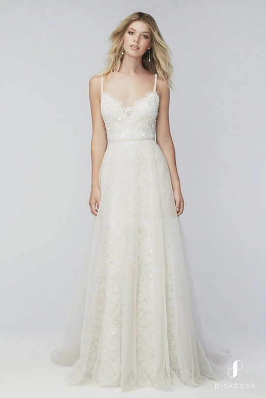 Wedding dresses for skinny bride