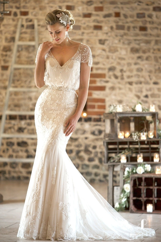 Wedding dress for The Tall Bride