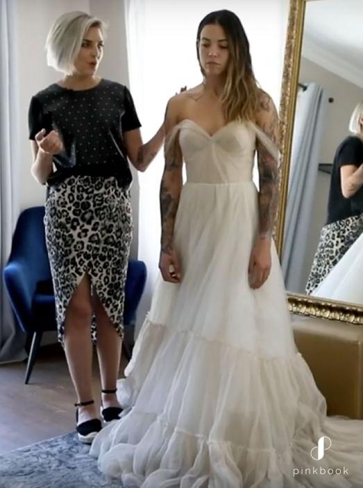 Triangle Shape Wedding Dresses