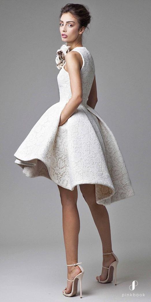 Short wedding dress for The Petite Bride