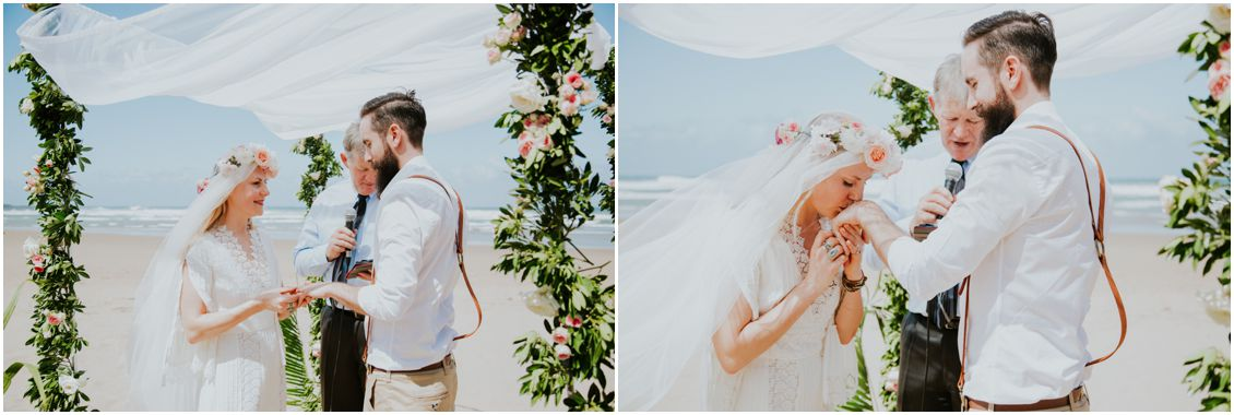 Bohemian Wedding by Michelle Guzinski Mazeppa Bay Hotel