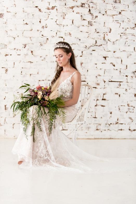 Juan William Aria wedding dress