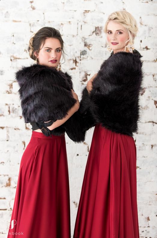 shawl for bridesmaids