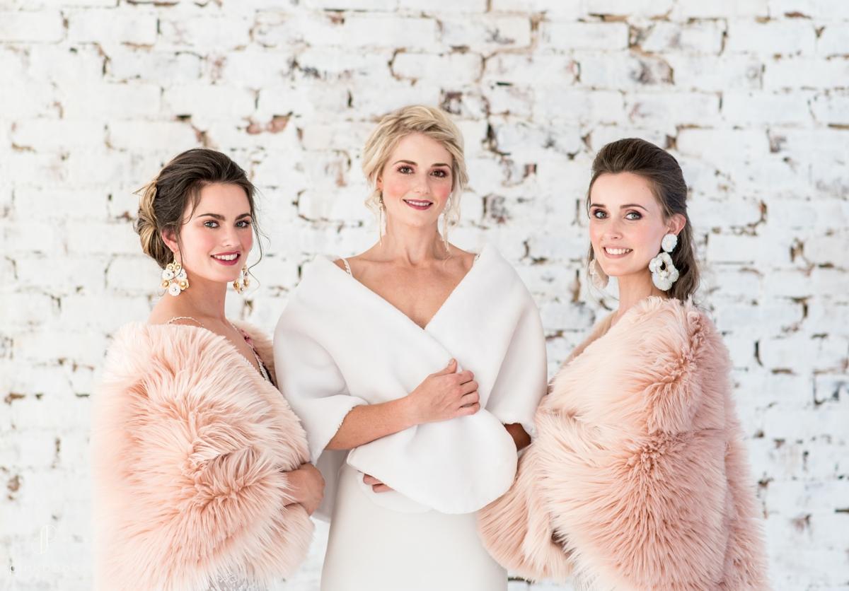 winter wedding style shawls