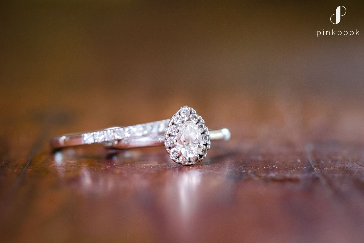 Tear Drop Wedding Ring