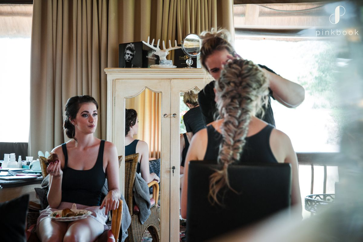 Bride Hair and Makeup