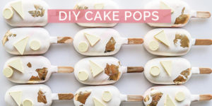 DIY Cake Pops for your Wedding day