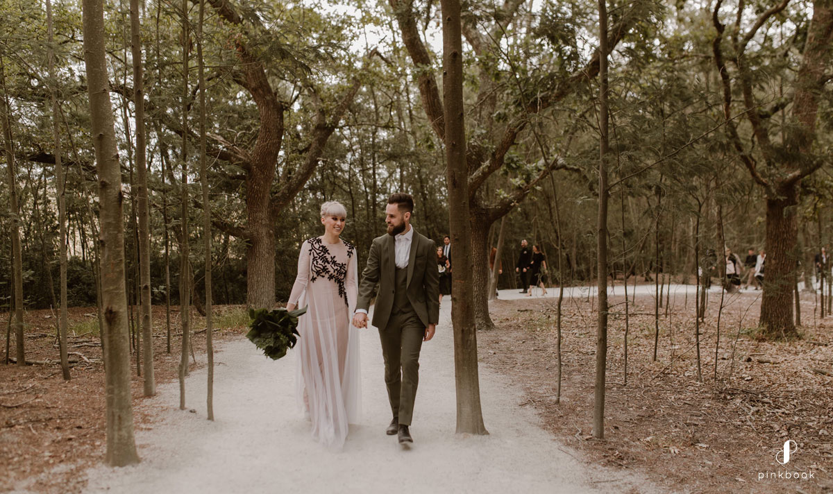 A different kind of fairytale wedding