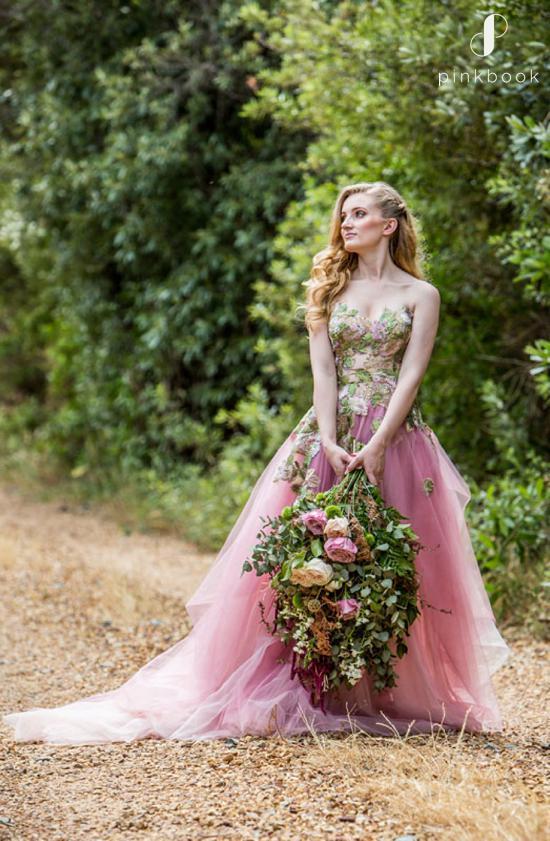 Fairytale Pink Wedding Dress
