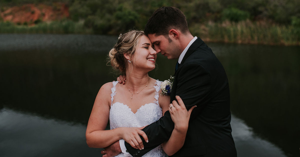 glamping wedding in robertson
