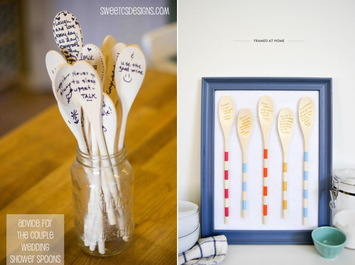 Kitchen Tea Games Wooden Spoon recipe for good marriage