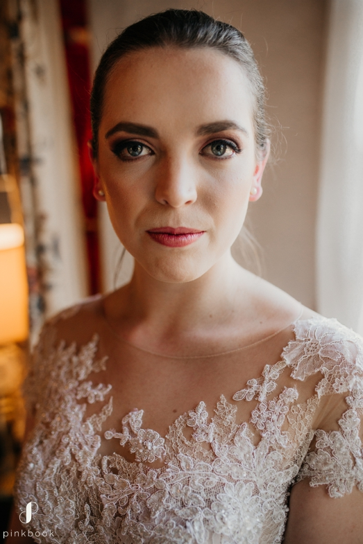 romantic wedding makeup