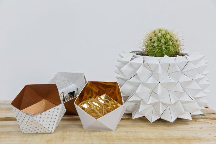 Origami Fortune Teller Vase Cover