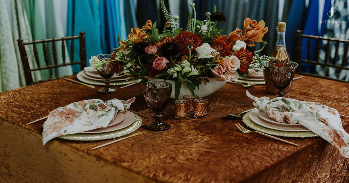 rust and orange wedding ideas