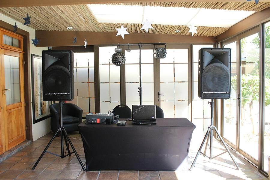 The Party Technician - DJ & Live Bands Cape Town