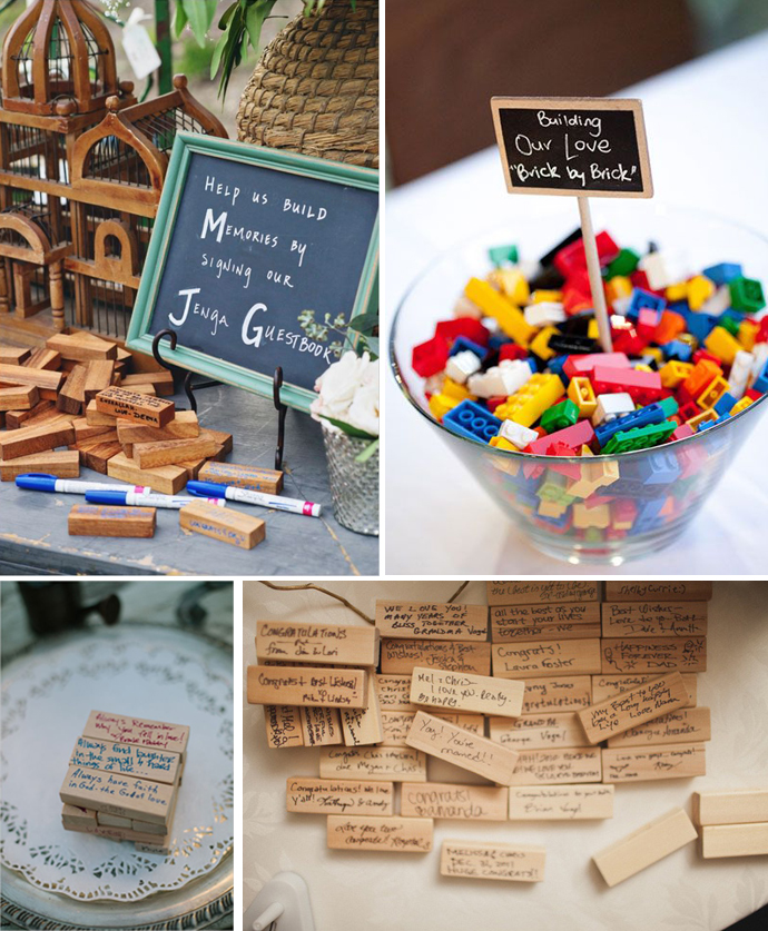Unusual Wedding Ideas: Unique Wedding Guest Book Ideas
