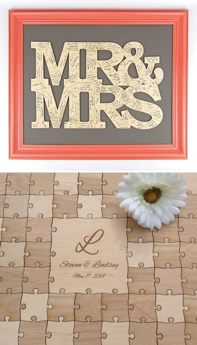 Beautiful Coffee Book For Wedding Guest Book