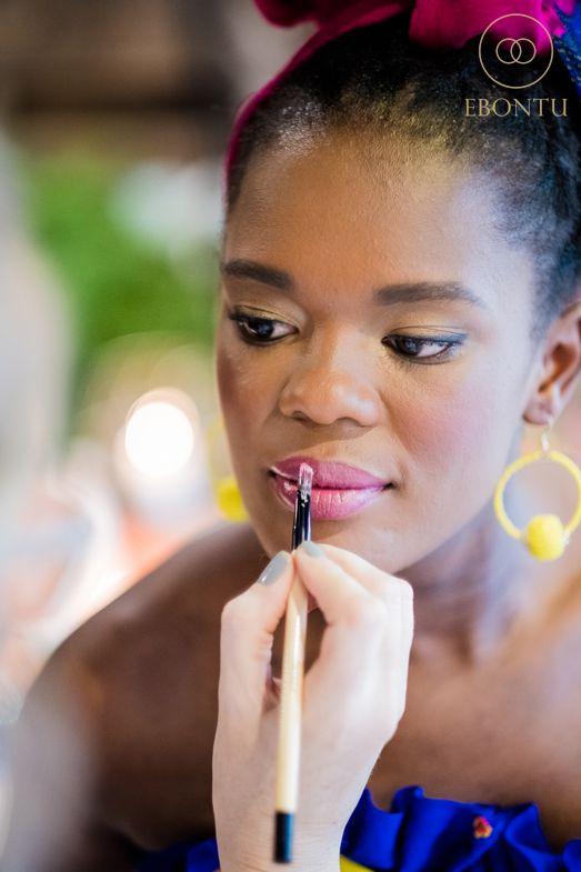 african wedding makeup johannesburg