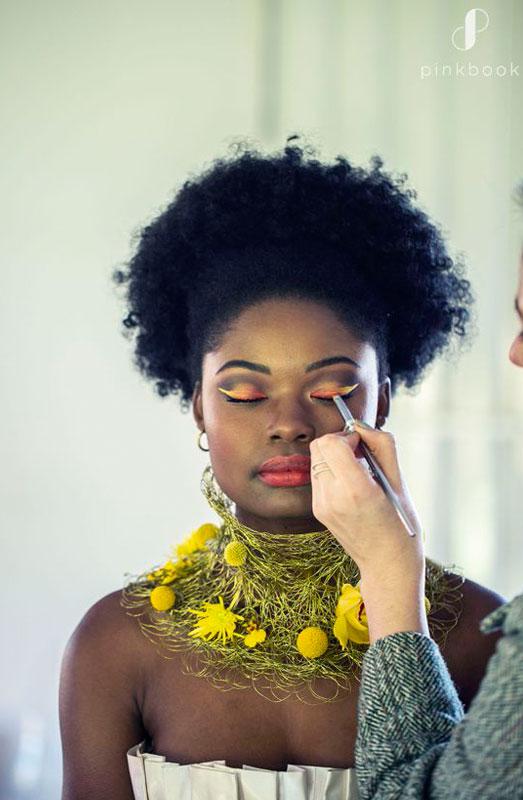 african wedding makeup and hair ideas