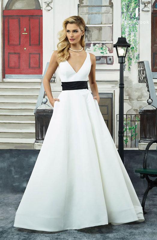 50s Vintage A Line Wedding Dress
