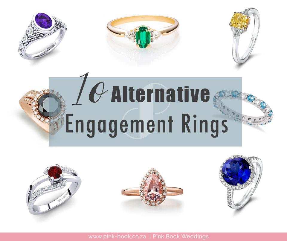 10 Alternative Engagement Ring Stones