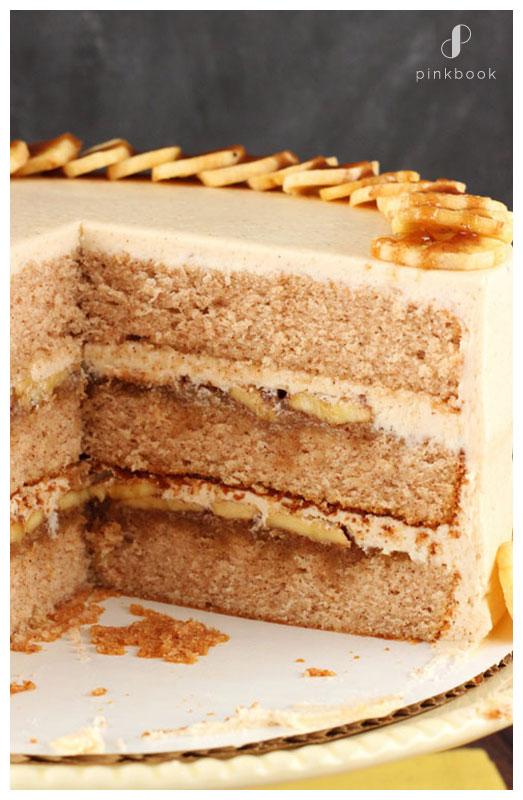 Banana Toffee Wedding Cake Flavour