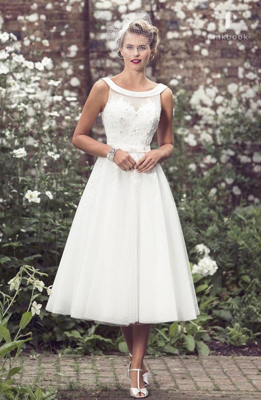Brighton Belle Retro Short Wedding Dress