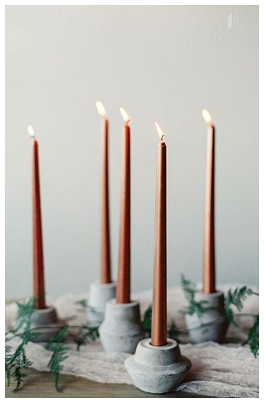 candles-wedding-trends