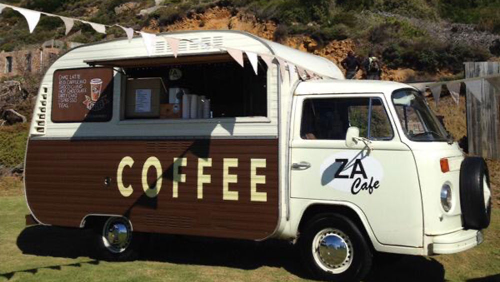 ZA Cafe Mobile - Catering Cape Town