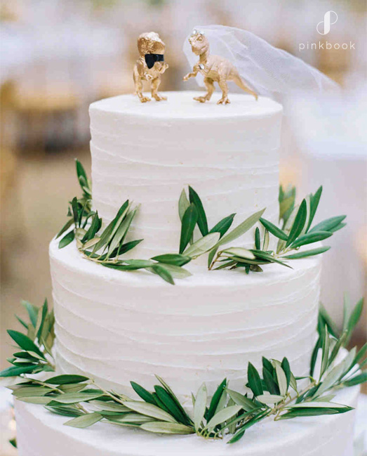 cute dinosaur cake toppers