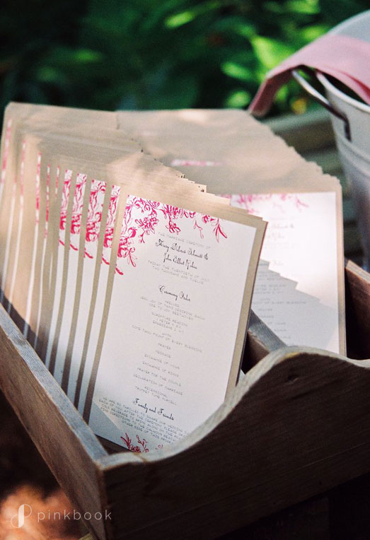 Cheap Wedding Programs