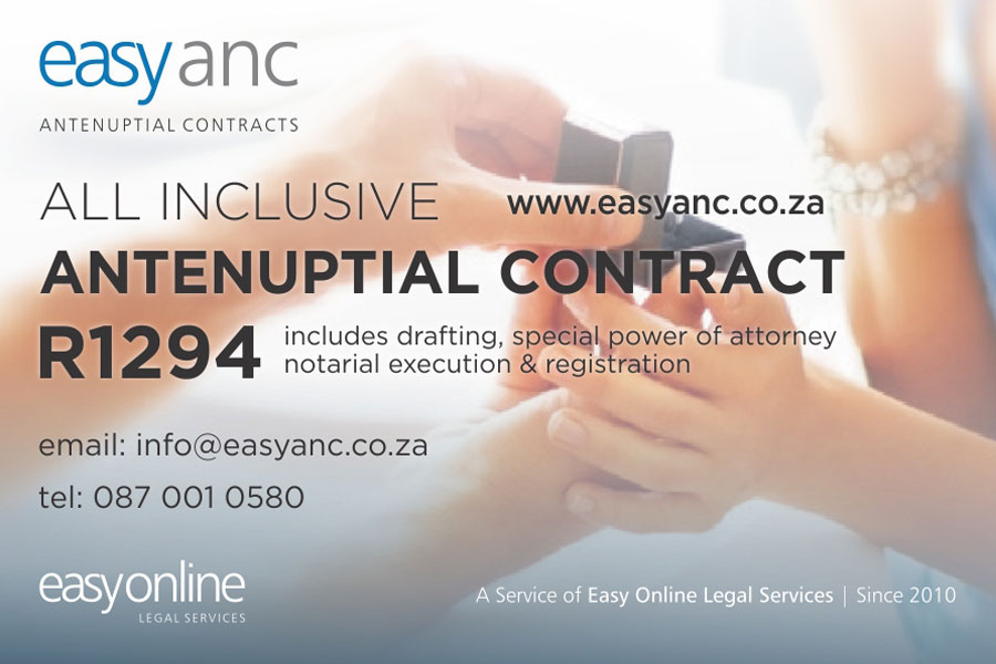 EasyAnc.co.za - Contracts & Legal Gauteng