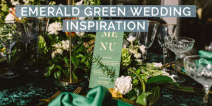 Emerald Green Wedding Inspiration at The Cartel Rooftop