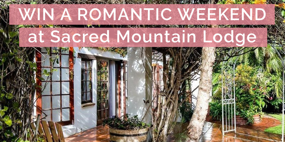 CLOSED - WIN A Romantic Weekend Away at Sacred Mountain Lodge