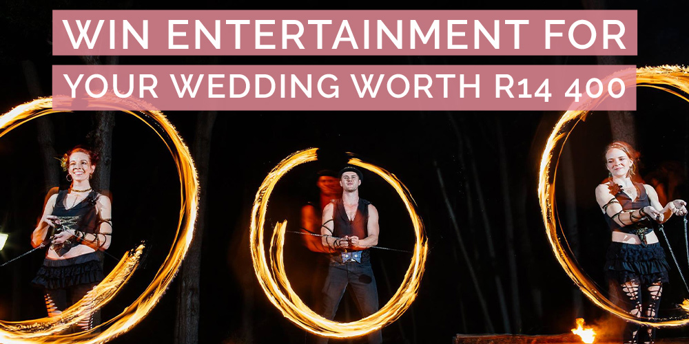 CLOSED – WIN Your Wedding Entertainment worth R14 400