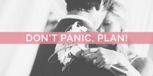 Coronavirus Precautions: Don't Panic, Plan!