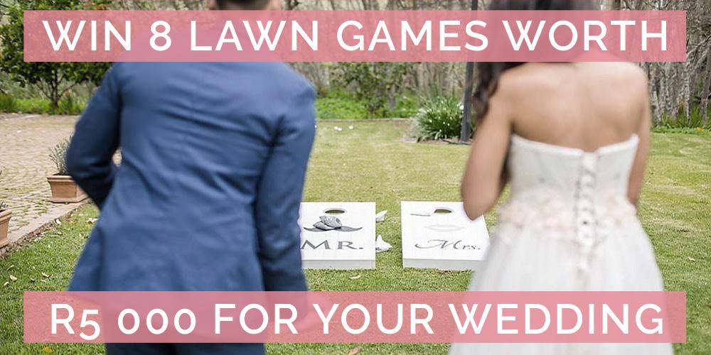 Win Your Wedding Lawn Games worth R5 000