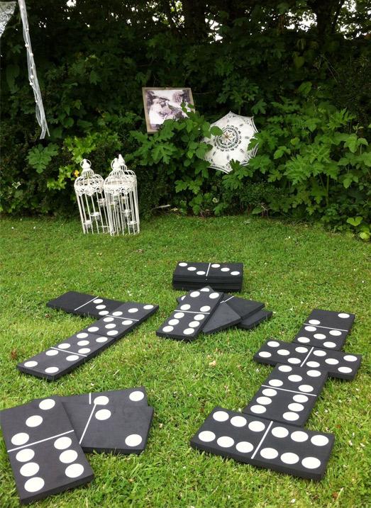 giant dominoes wedding games