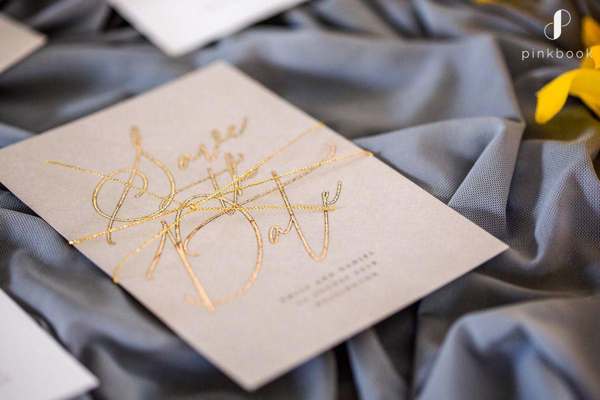 golden wedding inspiration
