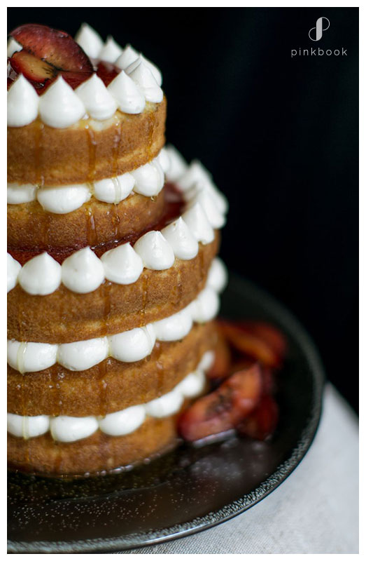 Honey Plum Wedding cake flavours