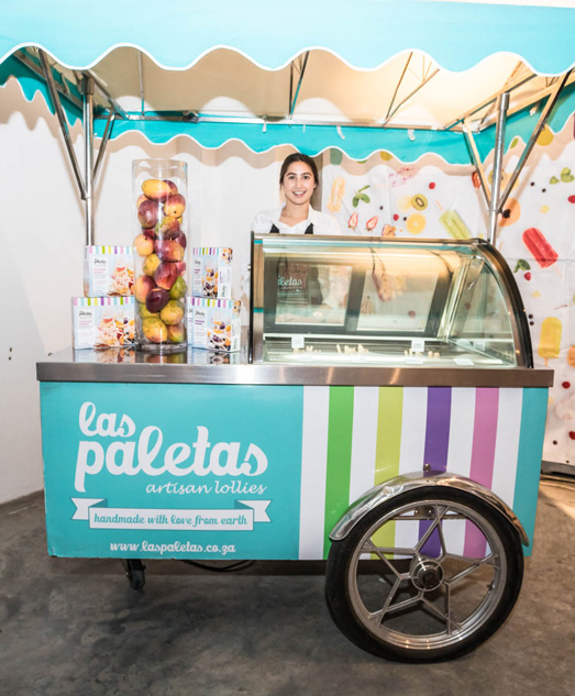 las paletas ice cream bar hire