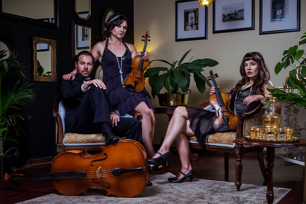 A String Of Pearls String Trio - DJ & Live Bands Johannesburg