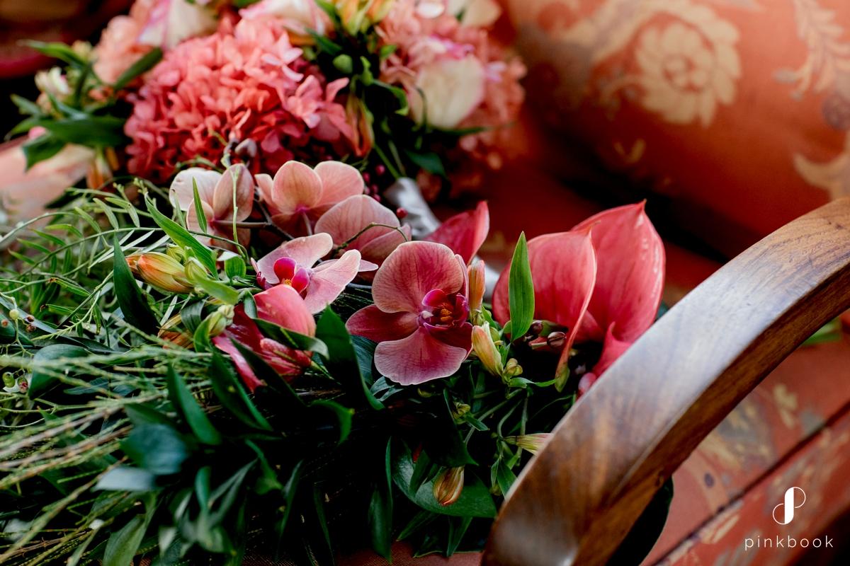 Pink Coral Wedding Flowers