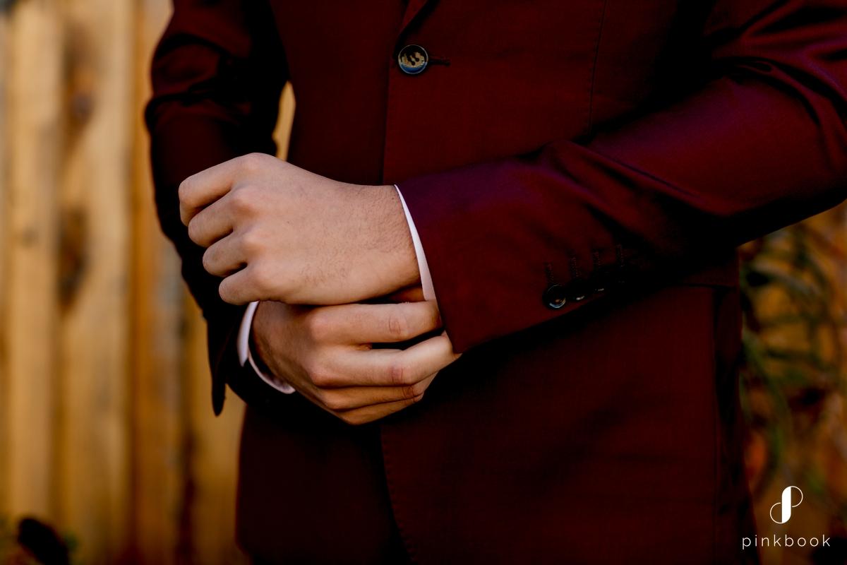 Maroon Burgandy Suit for Men