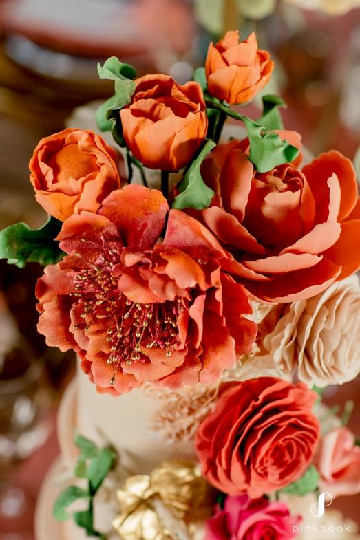Sugar Cakes Wedding Cake Flowers