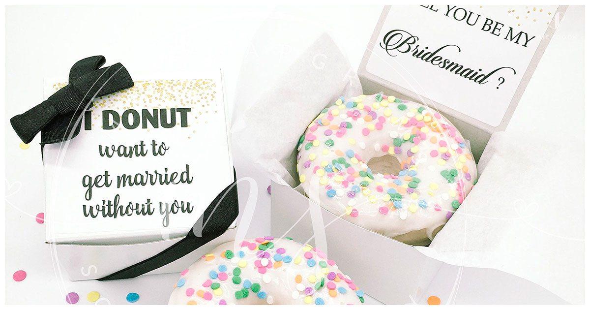 wedding donut idea