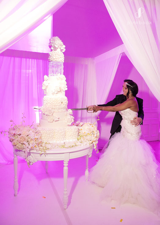 luxury wedding 7 tier cake