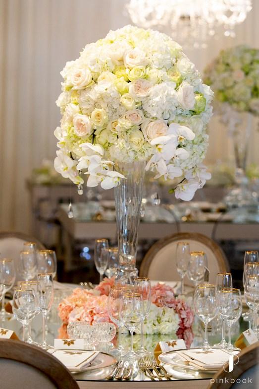 White Flower Center Pieces