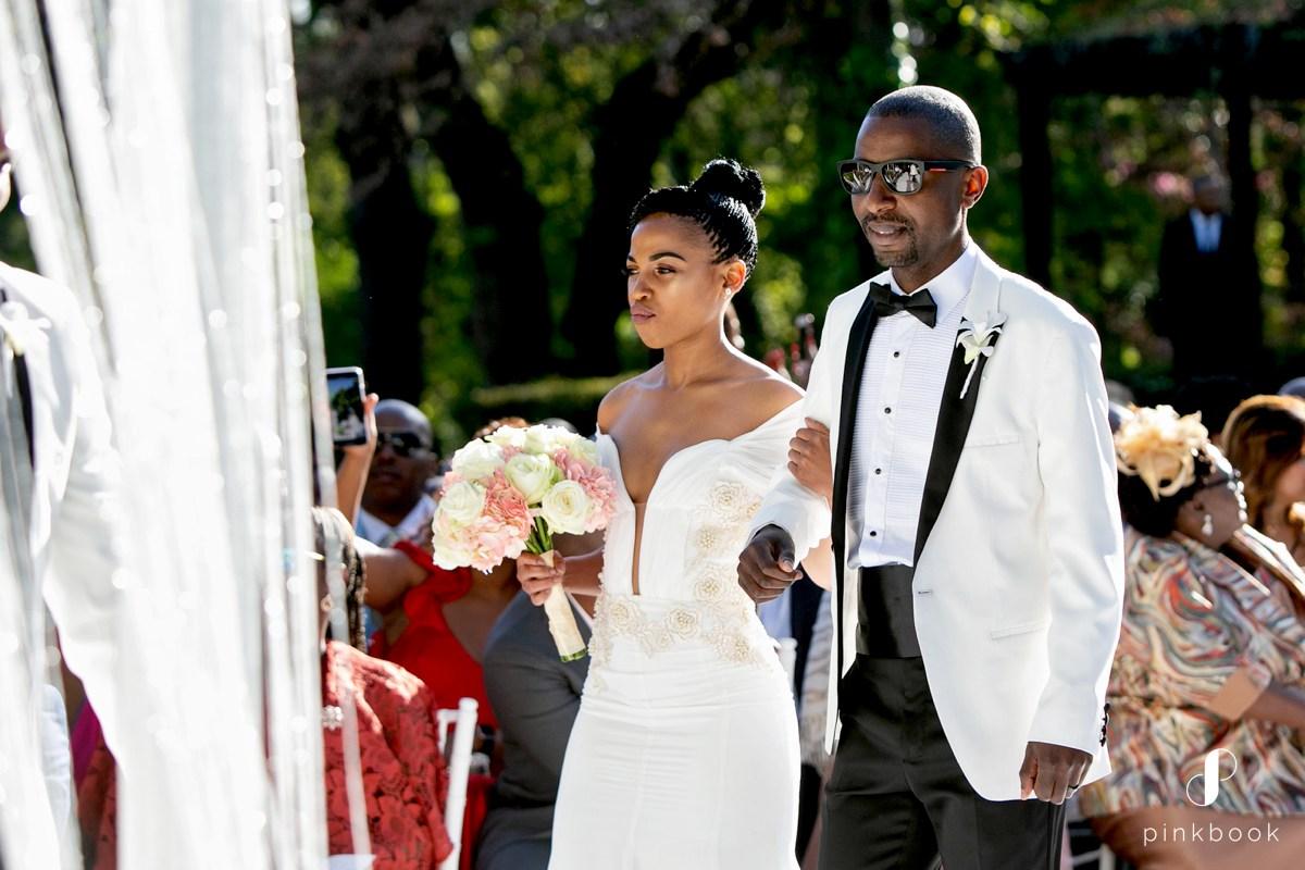 Groomsmen and Bridesmaid at Molenvliet Wedding
