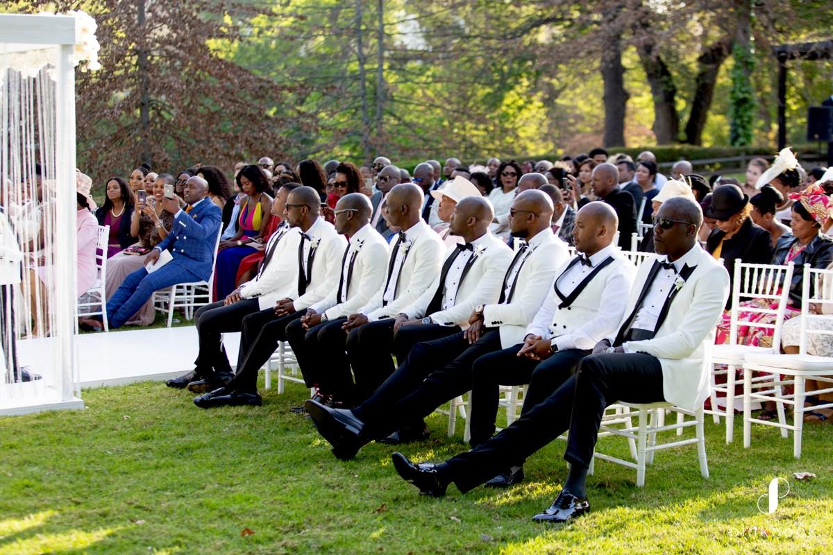 Luxury Wedding Groomsmen
